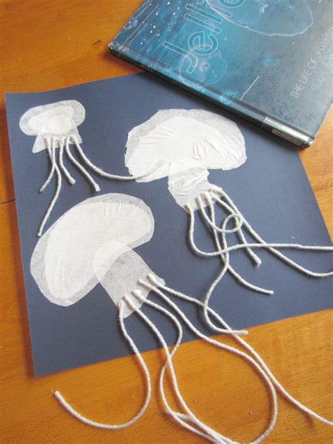 Sting Paper Crafts - relentlessly deceptively educational jellyfish