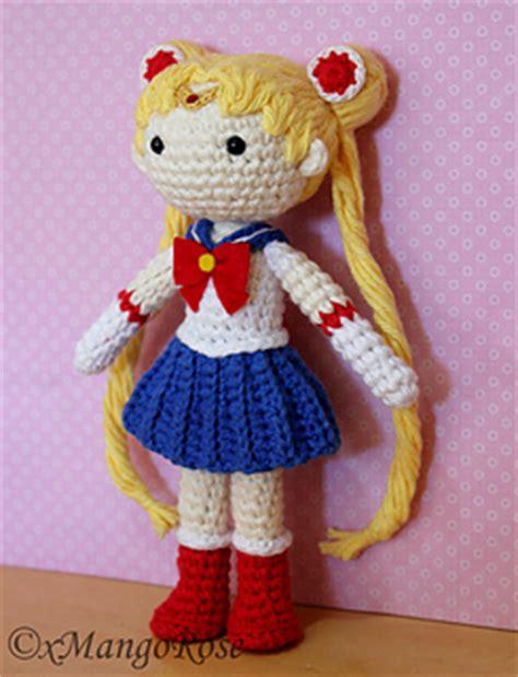 sailor moon knitting patterns ravelry sailor moon amigurumi doll pattern by wendy korz