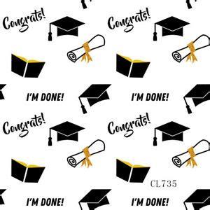 xft black  golden graduation party vinyl studio backdrop photo background ebay