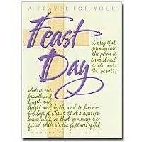 feast day cards buy religious feastday greeting card the printery house