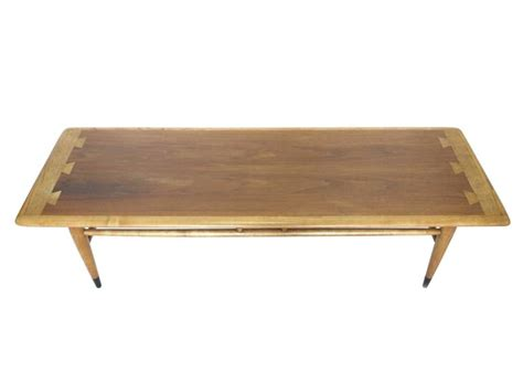 mid century ash and walnut coffee table by at 1stdibs