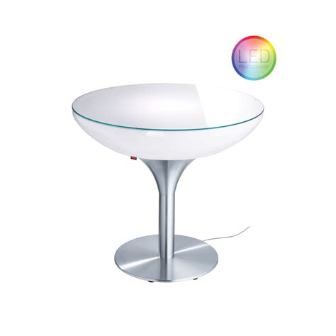 Led Bistro Table Lounge 75 Led Pro Indoor Dining Table Illuminated Furniture Moree