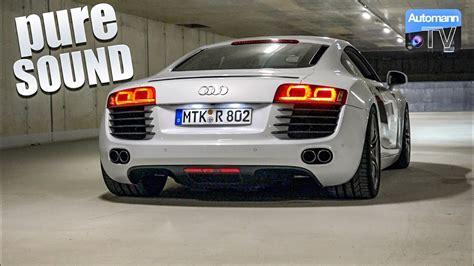 Audi R8 Sound by Audi R8 V8 430hp Sound 60fps
