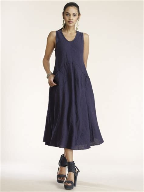 Tank Dress With Pockets For by Linen Pocket Dress By Luz At Hello Boutique