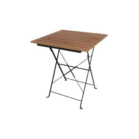 table de terrasse pliante table terrasse pliante imitation bois 595 x 595 mm