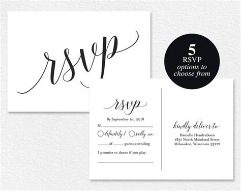 rsvp card template for wedding and welcome rsvp cards rsvp postcard rsvp template wedding rsvp