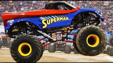 superman monster truck videos monster jam comes to carrier dome wstm