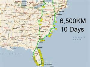 New York To Florida Map by Similiar Map Of Route From Florida To New York Keywords