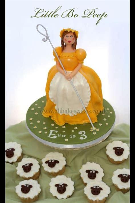 images   bo peep cakes   foods  pinterest peeps nursery rhyme
