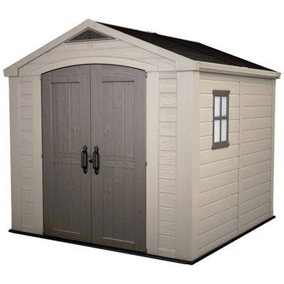 Keter Plastic Shed 8x8 by Page Not Found Garden Buildings Direct