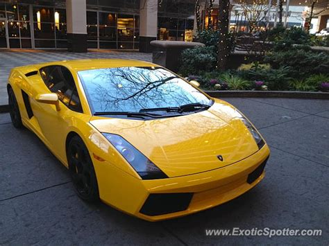 Lamborghini Of Bellevue Lamborghini Gallardo Spotted In Bellevue Washington On 12