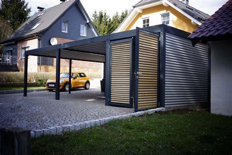 designer carport metall metallcarport mit abstellraum wien metallcarport