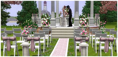 how to set up a wedding in sims 3 sims 3 wedding vs sims 4 the sims forums