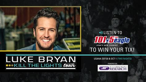 Luke Bryan Ticket Giveaway - win luke bryan tickets 101 5 the eagle