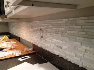 Limestone Kitchen Backsplash Mosaic Tile Backsplash Home Design Ideas