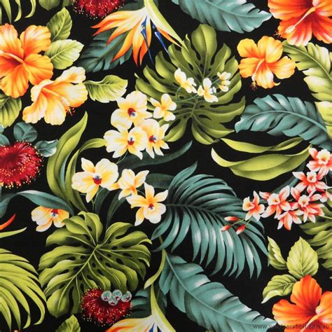 hawaii pattern photoshop jungle flower drawings wallpaper google zoeken