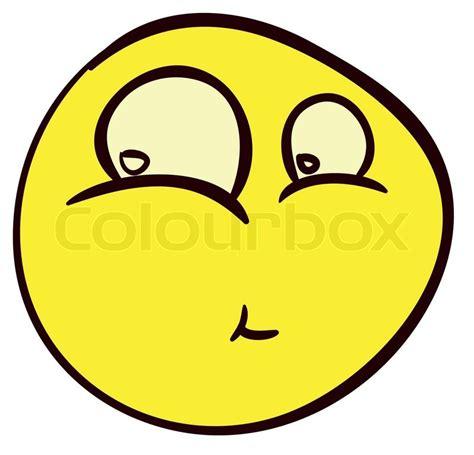 doodle emoticon smiley doodle 11 stock vector colourbox