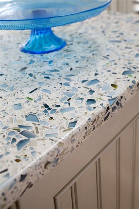 How To Make Recycled Glass Countertops by 14 Best Blue Kitchens Images On Blue Accents