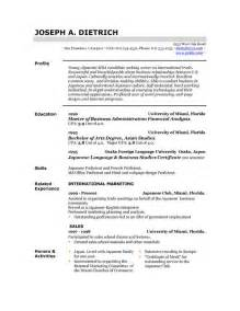 Free Sle Of Resume by 85 Free Resume Templates Free Resume Template Downloads Here Easyjob