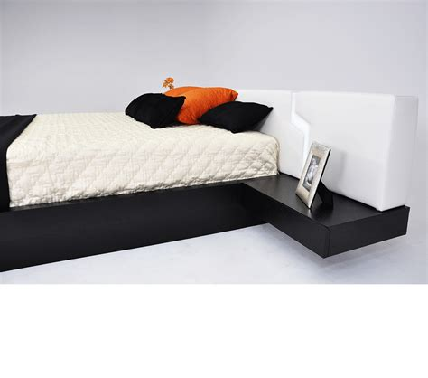 modern bed with storage dreamfurniture com torino modern platform bed with storage