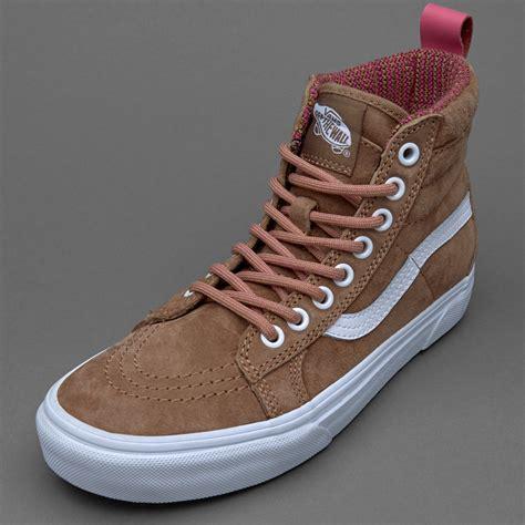 Sepatu Vans High Original sepatu sneakers vans womens sk8 hi mte toasted coconut