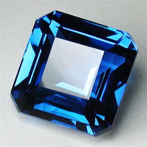 Octagon Blue Topaz Swiss 1 Hq 13 35 cts beautiful swiss blue topaz octagon