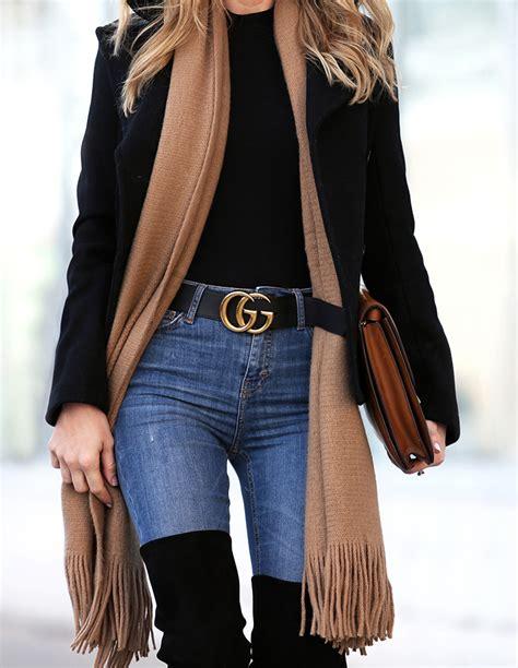 winter style  legs  gucci belt brooklyn blonde