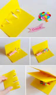 diy pop up cards - How To Make Pop Up Birthday Cards For