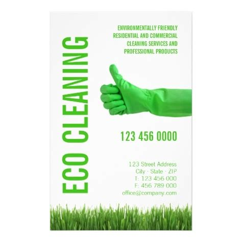 commercial cleaning business flyers exles and sles