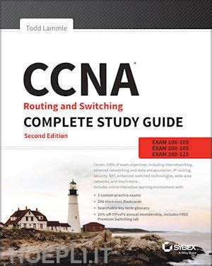 libro a study guide for ccna routing and switching complete study guide lammle todd sybex libro hoepli it