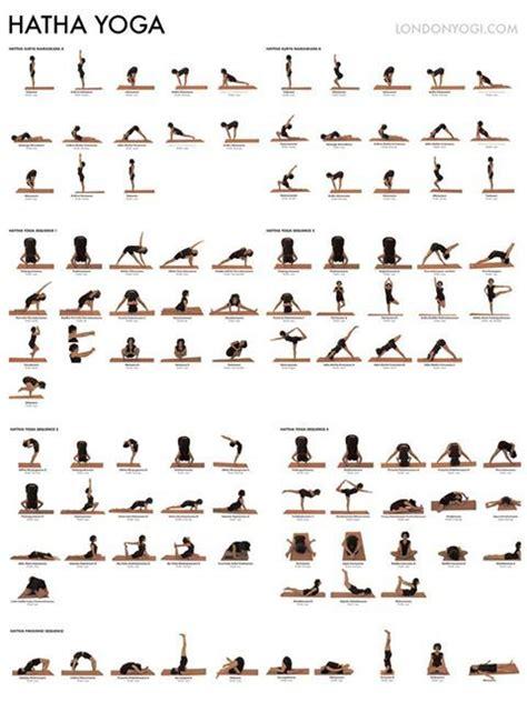 Printable Hatha Yoga Poses | hatha yoga poster outdoor hatha yoga by the beach
