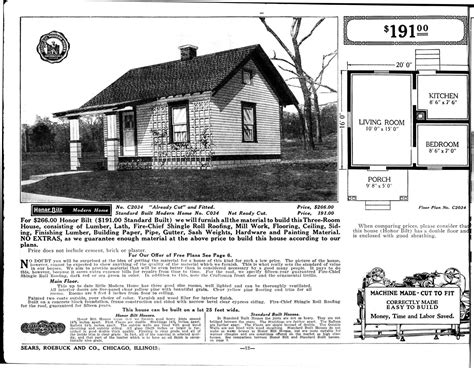 Sears Tiny House Kit Art Photos And Drawrings Pinterest