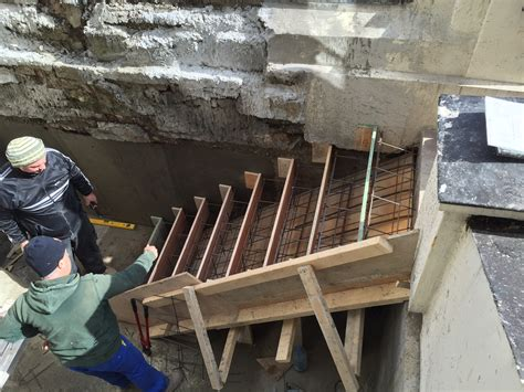 How To Build Concrete Steps renovation projects building concrete steps from the level to a new front