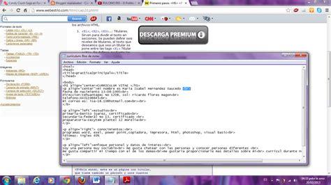 Plantilla Curriculum Vitae Bloc De Notas Mariaisabel Reporte De Curriculum Vitae