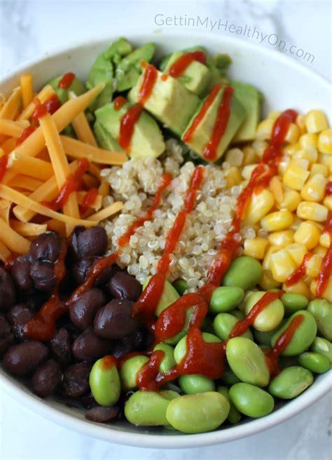 protein quinoa bowl quinoa protein bowl