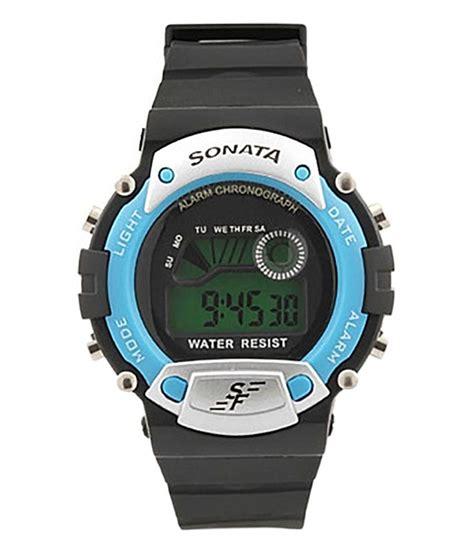 sonata blue digital sports price in india buy
