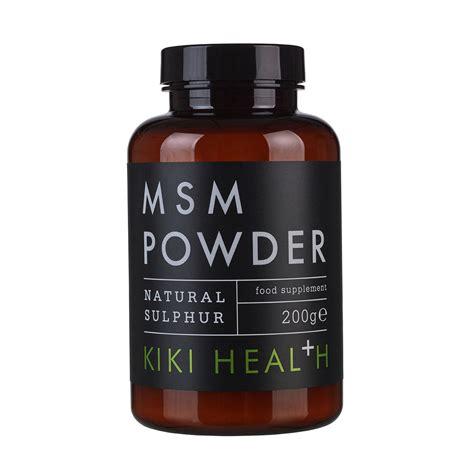 Organi Sulfur Detox by Msm Powder 200g Health