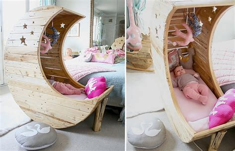 Best 25 Moon Crib Ideas - diy moon shaped cradle the owner builder network