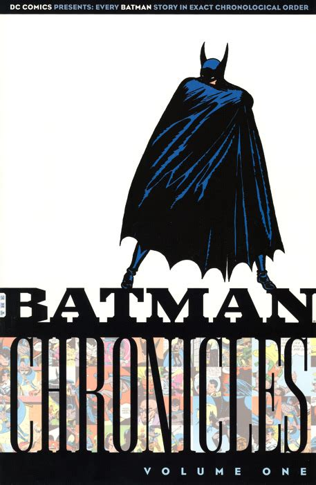 Batman Chronicles Vol 7 chronicles collections dc comics database