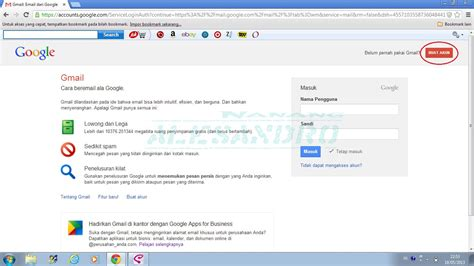 membuat gmail account cara membuat account gmail alesandro s