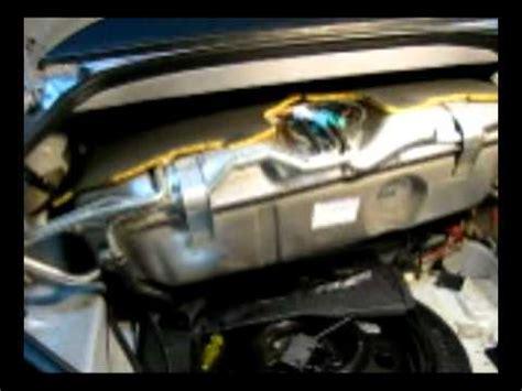 jaguar xk fuel pump replacement  fuel tank removal