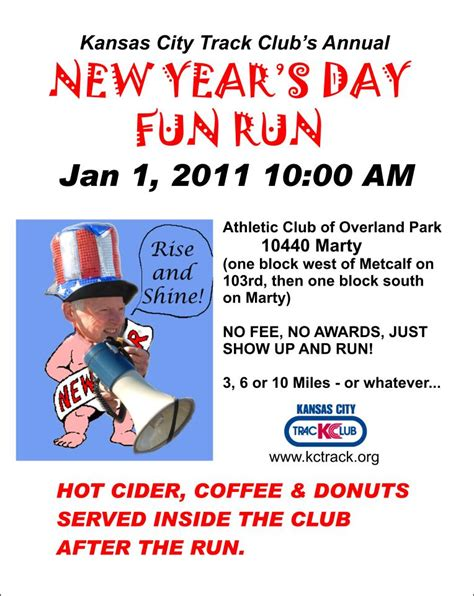 new year race day 2015 free new years day run the kansas city track club