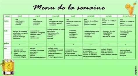 Menu Detox Pour Maigrir by Menu De La Semaine Pour Maigrir Healthy Lifestyle Fit