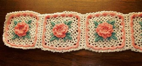 crochet pattern irish rose irish rose crochet square by priscilla hewitt squares