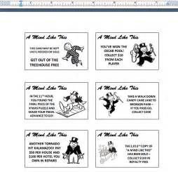 monopoly cards template gallery monopoly cards template