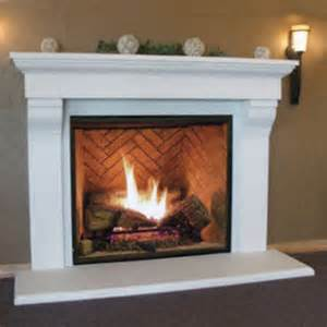 Gas Fireplace Surround Gas Fireplace Surrounds And Mantels Fireplaces
