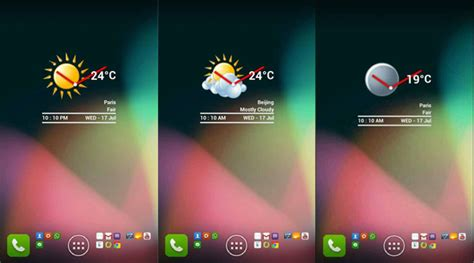 clock and weather widgets for android best android clock and weather widgets november 2013 aw center