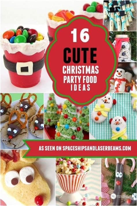 16 cute christmas party food ideas 21 sweater ideas spaceships and laser beams
