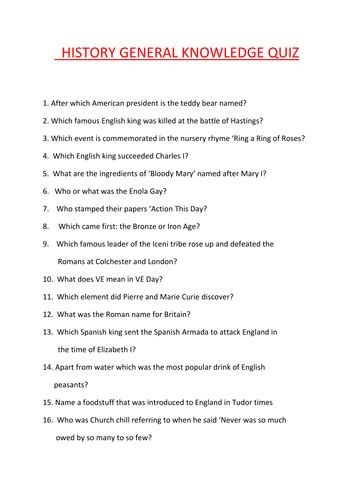 General Knowledge Questions For Mba Entrance Exams Pakistan by Search Teaching Resources Tes