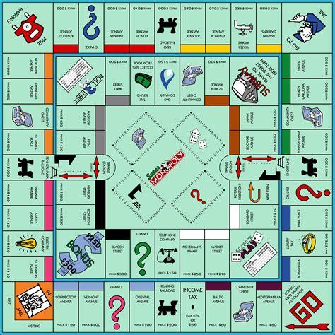 Super Monopoly By Jonizaak On Deviantart Monopoly Board Template Pdf